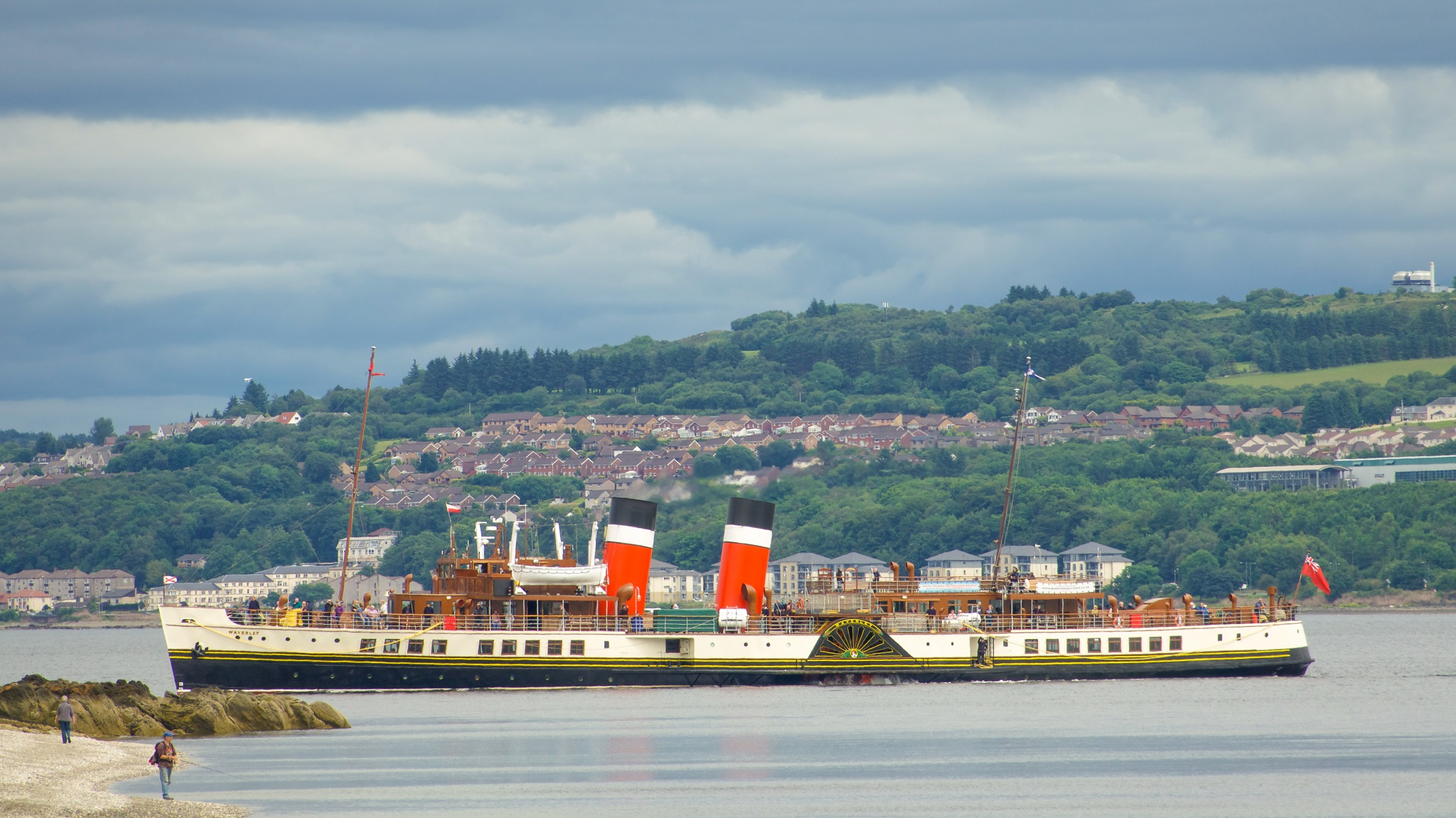 Waverley en el Clyde